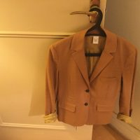 Tan DVF, Size 4, Ladies Jacket