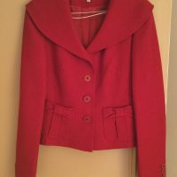 Size 8, Women's Red Karen Millen Jacket