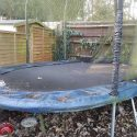 15ft x 10ft Oval Jumpking JumpPOD Trampoline in Richmond upon Thames