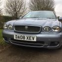Jaguar X-TYPE, 2008 (08) Blue Saloon, Manual Diesel, 99,000 miles, FSH + New injectors in Reading