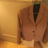 Tan Joseph Ladies Size 10 Jacket