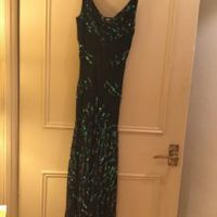 DVF Ladies Size 8 Sequined Dress